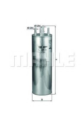 Фильтр топливный KNECHT KL2294