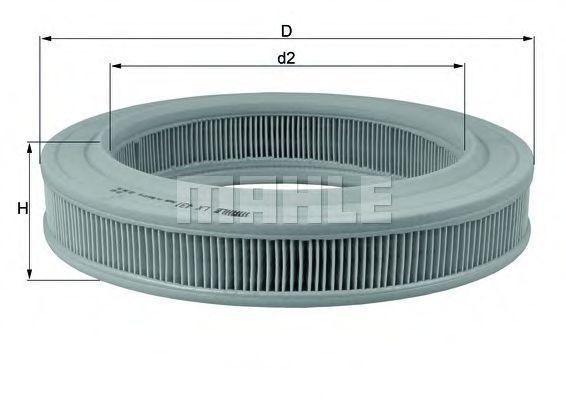 Фильтр воздушный KNECHT LX431