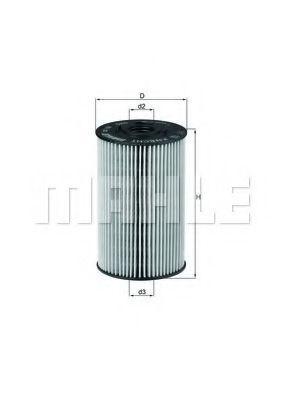 Купить Фильтр масляный KNECHT OX150D1