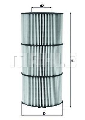 Масляный фильтр KNECHT OX832D