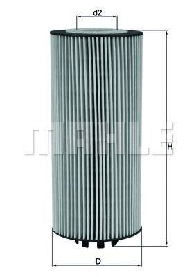 Масляный фильтр KNECHT OX987D
