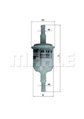 Фильтр топливный KNECHT KL13OF
