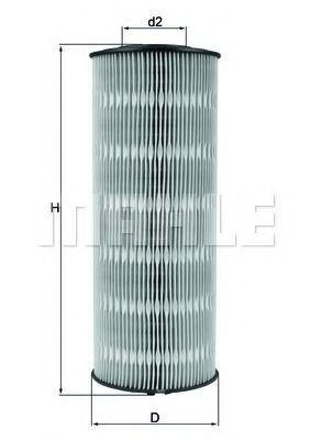Фильтр масляный KNECHT OX168D