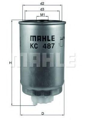 Фильтр топливный KNECHT KC 487