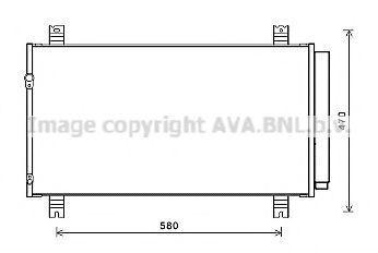 Конденсатор, кондиционер Prasco MT5258D