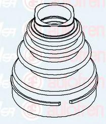 Пыльник ШРУС AUTOFREN SEINSA D8526