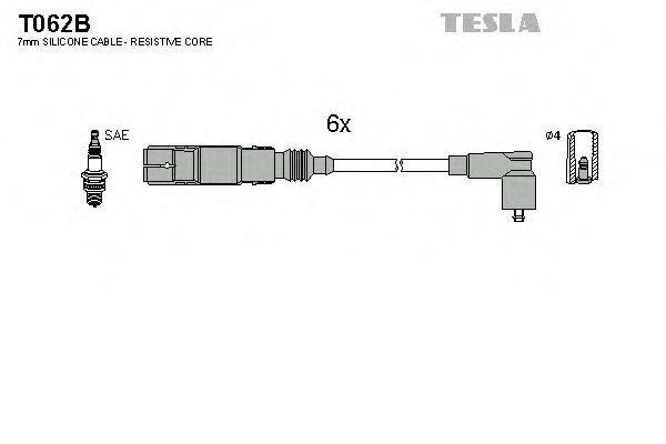 Провода высоковольтные комплект TESLA T062B