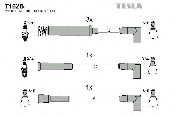 Провода высоковольтные комплект TESLA T162B