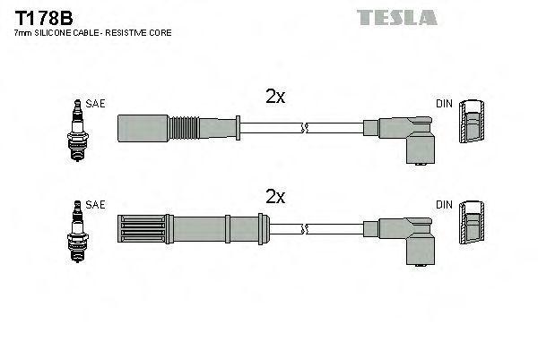 Провода высоковольтные TESLA T178B