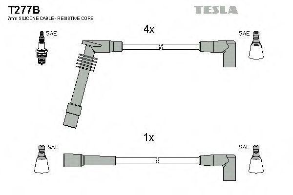 Провода высоковольтные TESLA T277B