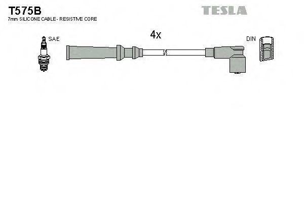 Провода высоковольтные комплект TESLA T575B
