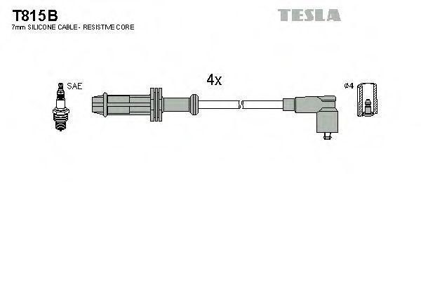 Провода высоковольтные комплект TESLA T815B