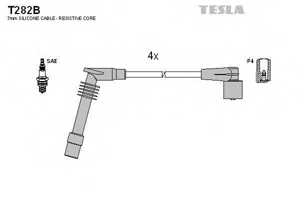 Провода высоковольтные TESLA T282B