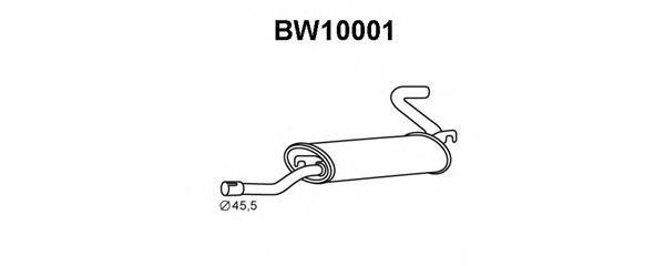 Глушитель выхлопных газов конечный VENEPORTE BW10001