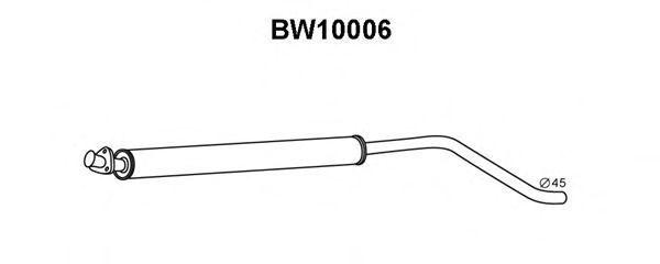 Предглушитель выхлопных газов VENEPORTE BW10006