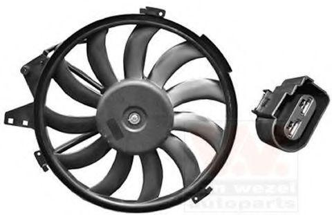 Вентилятор, охлаждение двигателя VAN WEZEL 0302746