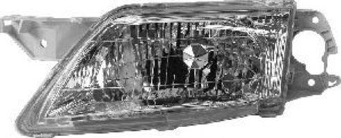 Основная фара VAN WEZEL 2760941