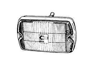 Противотуманная фара VAN WEZEL 0935999