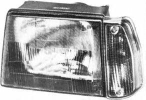 Основная фара VAN WEZEL 1762941M