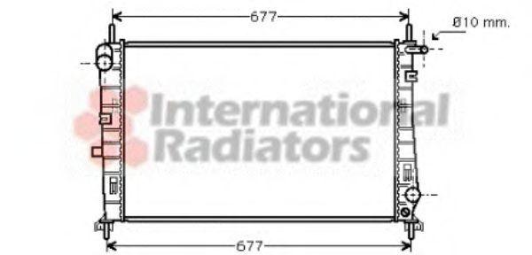 Радиатор охлаждения VAN WEZEL 18 00 2185