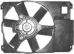 Вентилятор, охлаждение двигателя VAN WEZEL 1747746