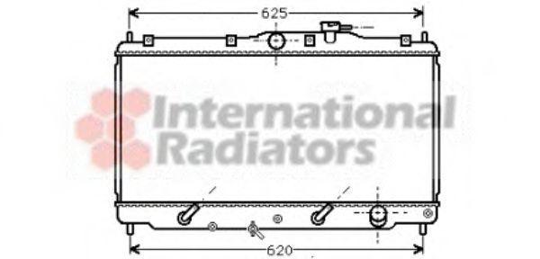Радиатор охлаждения VAN WEZEL 25002011