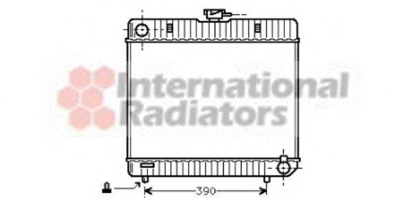 Радиатор охлаждения VAN WEZEL 30002042