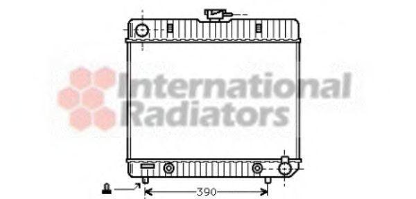 Радиатор охлаждения VAN WEZEL 30002043