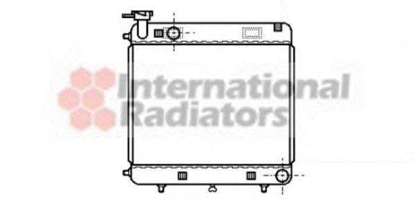Радиатор охлаждения VAN WEZEL 30 00 2085