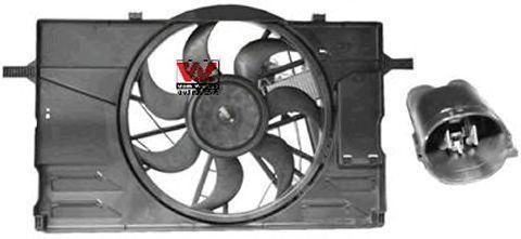 Вентилятор, охлаждение двигателя VAN WEZEL 5942748
