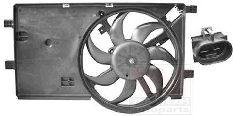 Вентилятор, охлаждение двигателя VAN WEZEL 1748746