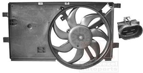 Вентилятор, охлаждение двигателя VAN WEZEL 1748747