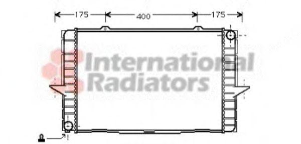 Радиатор охлаждения VAN WEZEL 59 00 2063