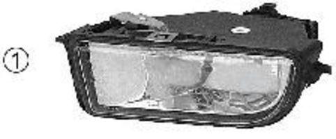 Противотуманная фара VAN WEZEL 0938996