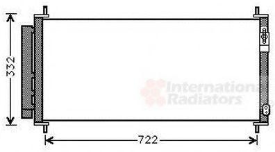 Конденсатор, кондиционер VAN WEZEL 25005264