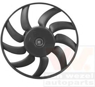 Вентилятор, охлаждение двигателя VAN WEZEL 0327746