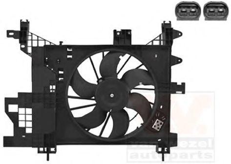 Вентилятор, охлаждение двигателя VAN WEZEL 1555747