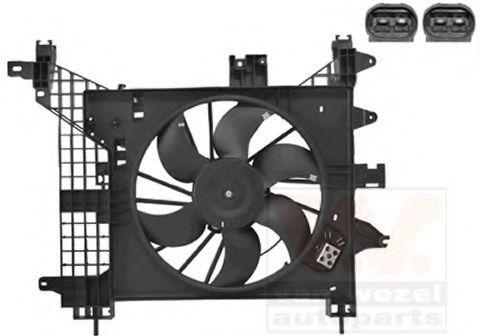 Вентилятор, охлаждение двигателя VAN WEZEL 1555748