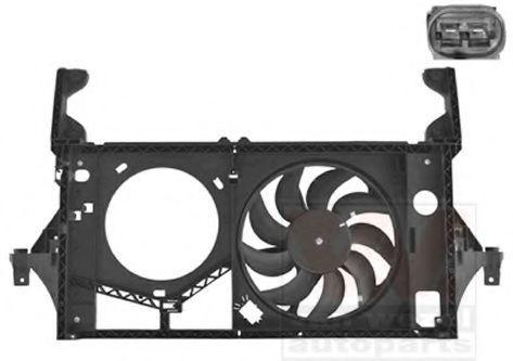 Вентилятор, охлаждение двигателя VAN WEZEL 4391748