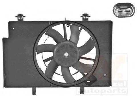 Вентилятор, охлаждение двигателя VAN WEZEL 1807746