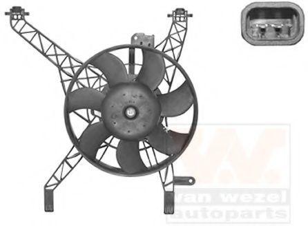 Вентилятор, охлаждение двигателя VAN WEZEL 1807747