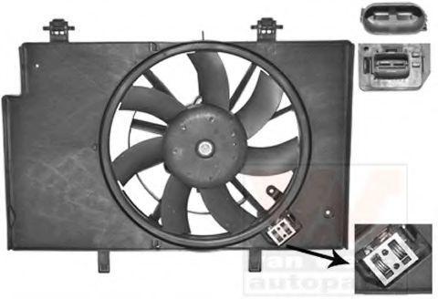 Вентилятор, охлаждение двигателя VAN WEZEL 1807749