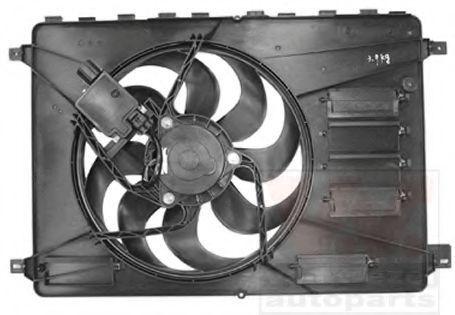 Вентилятор, охлаждение двигателя VAN WEZEL 1881746