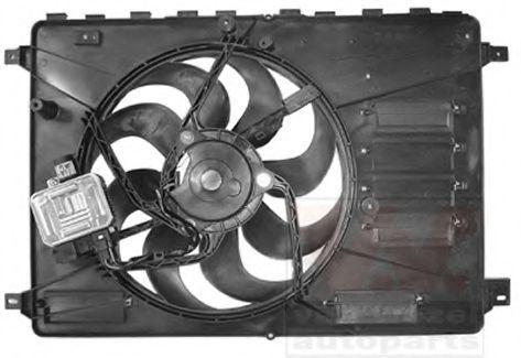 Вентилятор, охлаждение двигателя VAN WEZEL 1881747