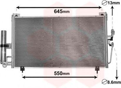Радиатор кондиционера VAN WEZEL 32 00 5213