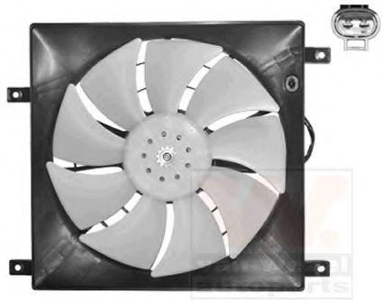 Вентилятор, охлаждение двигателя VAN WEZEL 1603747