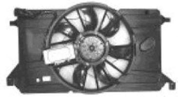 Вентилятор, охлаждение двигателя VAN WEZEL 2735747