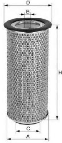 Воздушный фильтр UNIFLUX FILTERS XA1250