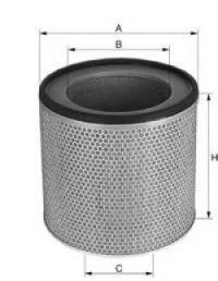 Воздушный фильтр UNIFLUX FILTERS XA1272