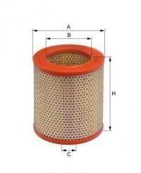 Воздушный фильтр UNIFLUX FILTERS XA23